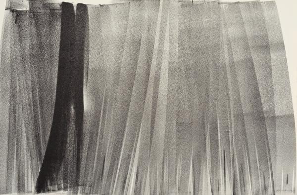 Lithograph Hartung - Lithographie originale. Signée.