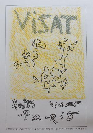 Lithograph Matta - Lithographie pour Visat
