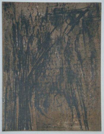 Lithograph Vieira Da Silva - Lithographie pour XXe Siècle, 1962