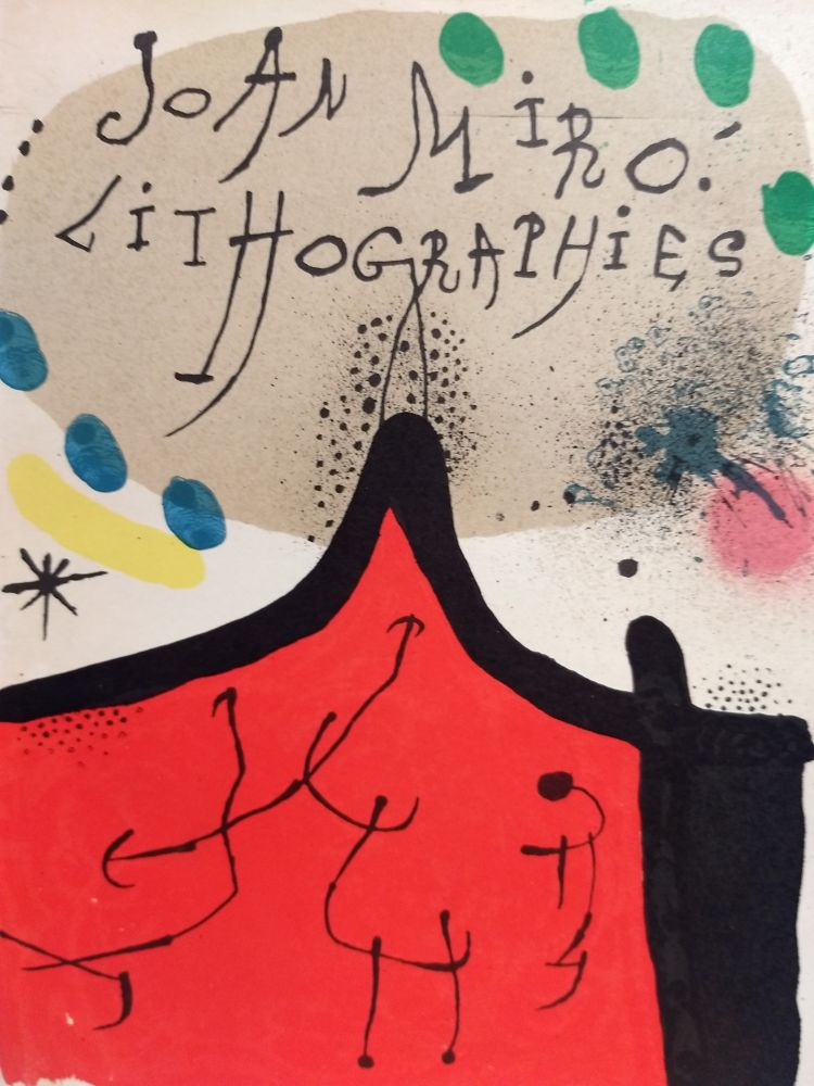Illustrated Book Miró - Lithographies