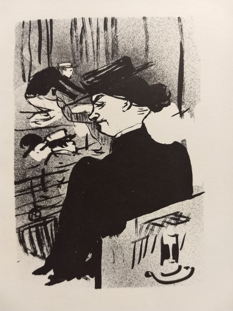 Illustrated Book Toulouse-Lautrec - Lithographs