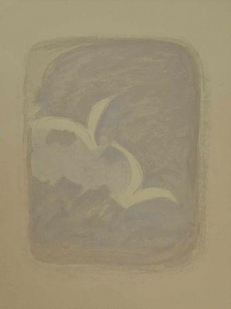 """Lithograph Braque - Litografia a colori tratta dal volume """"Descente aux enfers"""