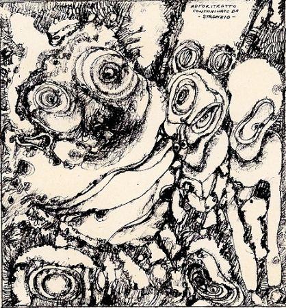 Illustrated Book Notari - Litografie