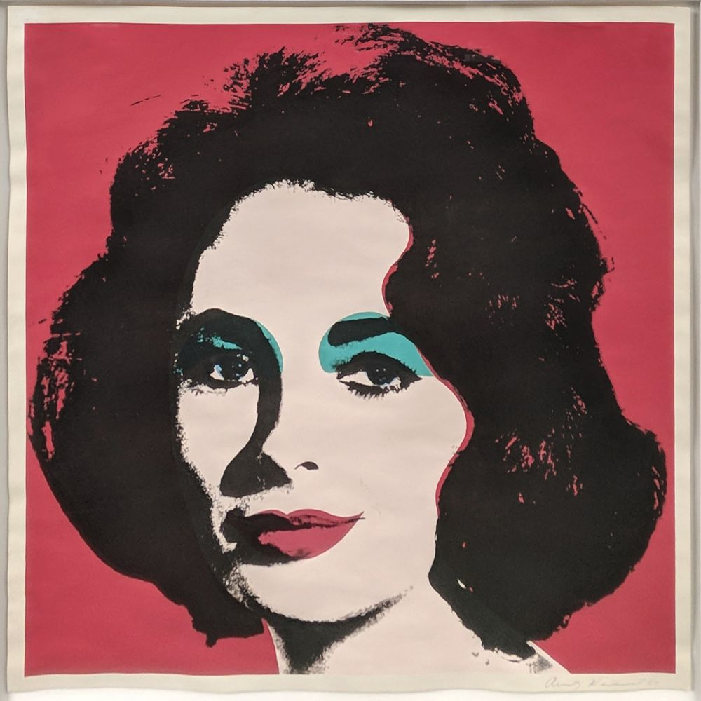 Lithograph Warhol - LIZ FS II.7