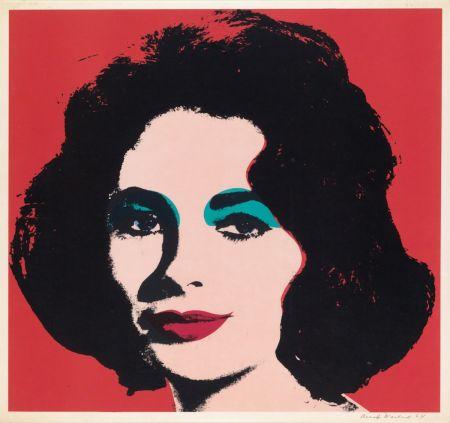Screenprint Warhol - Liz (FS II.7)