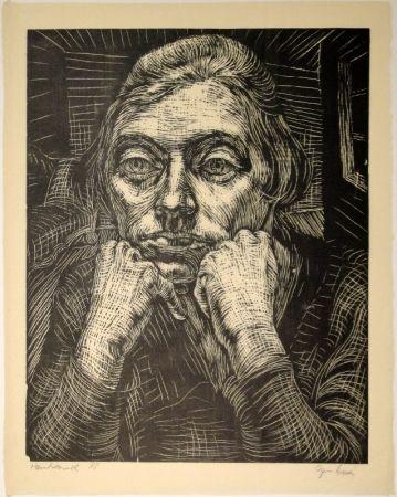 Woodcut Epper - Lizzy I