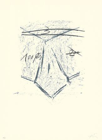 Lithograph Tàpies - Llambrec-12