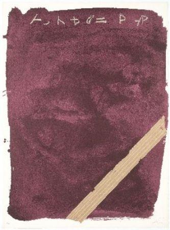 Lithograph Tàpies - Llambrec-13
