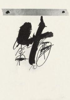Lithograph Tàpies - Llambrec-15