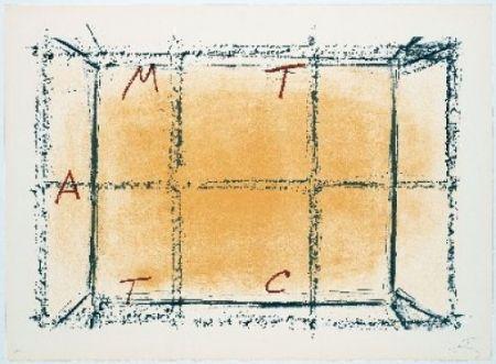 Lithograph Tàpies - Llambrec-18