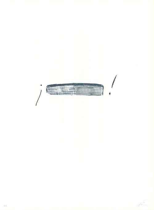 Lithograph Tàpies - Llambrec-4