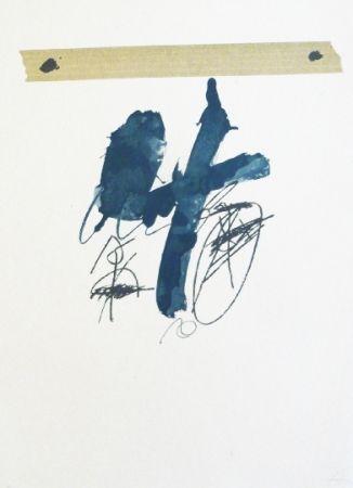 Lithograph Tàpies - Llambrec 15