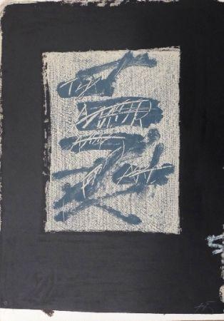 Lithograph Tàpies - Llambrec 17