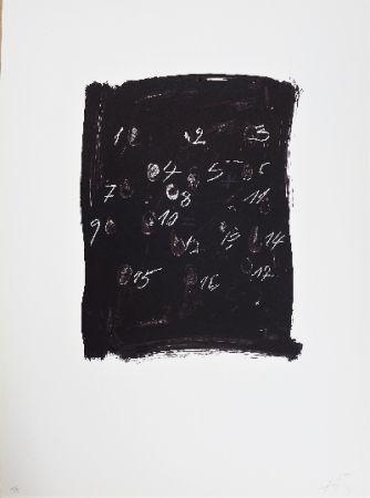 Lithograph Tàpies - LLambrec 3