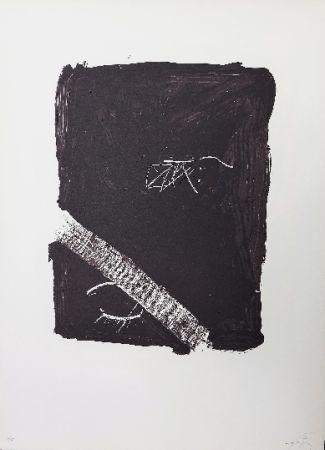 Lithograph Tàpies - LLambrec 5