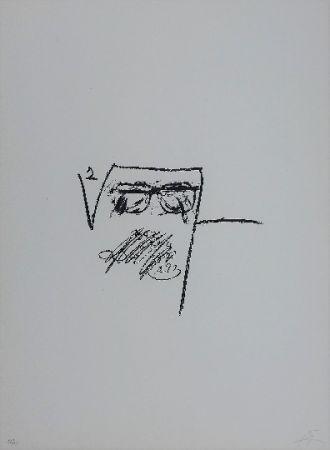 Lithograph Tàpies - LLambrec 6