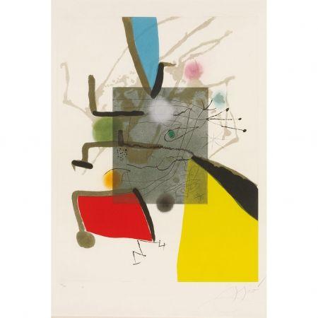 Etching Miró - Llibre Del sis Sentits II