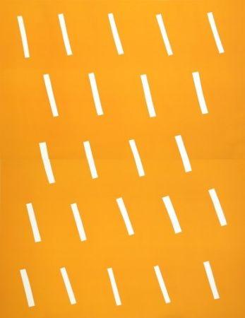 Lithograph Ballester Moreno - Lluvia