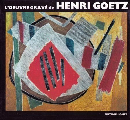 Illustrated Book Goetz - L´oeuvre gravé de Henri Goetz