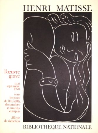 Lithograph Matisse - L'Oeuvre Gravée  Bibliotheque Nationale