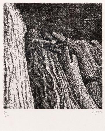 Etching Moore - Log Pile II