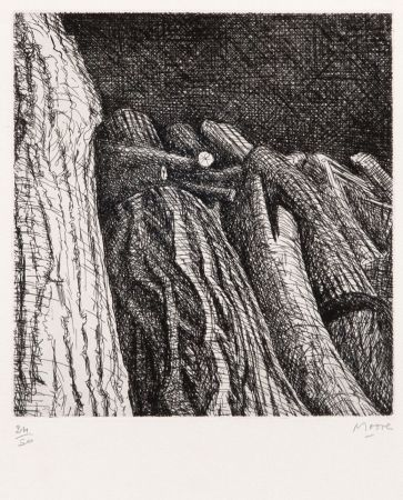 Etching Moore - Log Pile II