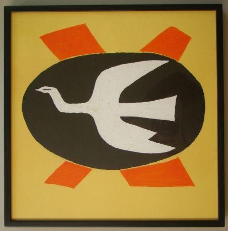 Lithograph Braque - L'oiseau de feu