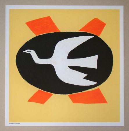 Lithograph Braque (After) - L'oiseau de feu, 1958