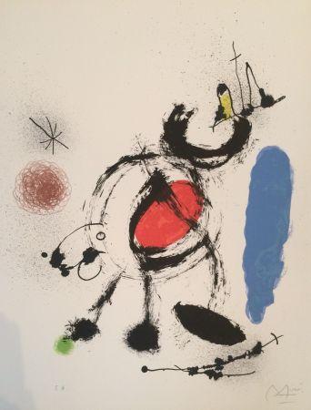 Lithograph Miró - L'oiseau Migrateur