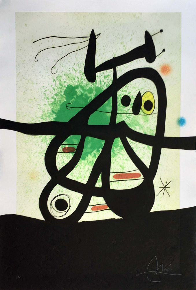 No Technical Miró - L'Oiseau Mongol