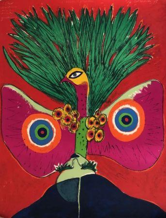 Lithograph Corneille - L'oiseau papillon