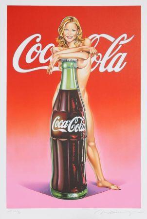 Lithograph Ramos - Lola Cola #4 (Michelle Pfeiffer)