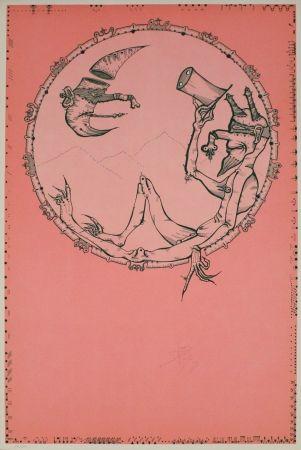 Lithograph Ponc - London
