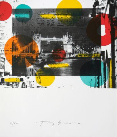 Lithograph Soulie - London