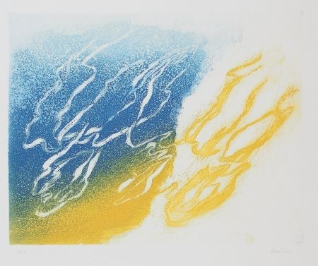 Etching And Aquatint Fautrier - L'Orage