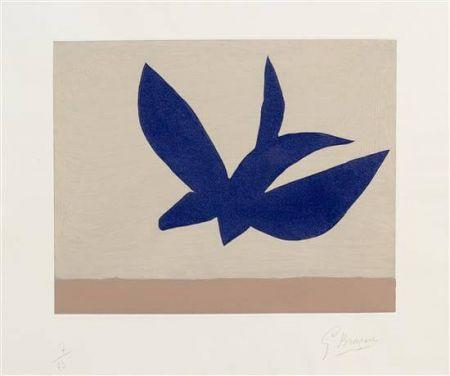 Engraving Braque - L'ordre des oiseaux