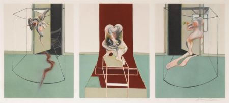 Lithograph Bacon - L'Orestie d'Eschyle (After Triptych inspired by the Oresteia of Aeschylus)
