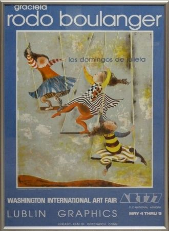 Lithograph Rodo-Boulanger - Los Domingos de Julieta