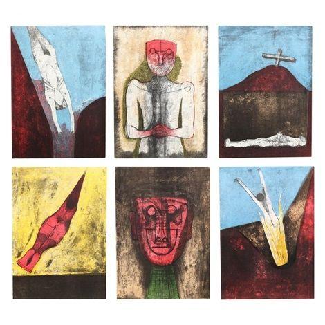 Lithograph Tamayo - Los Signos Existen