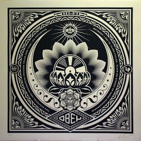 Screenprint Fairey - Lotus Album, Large Format