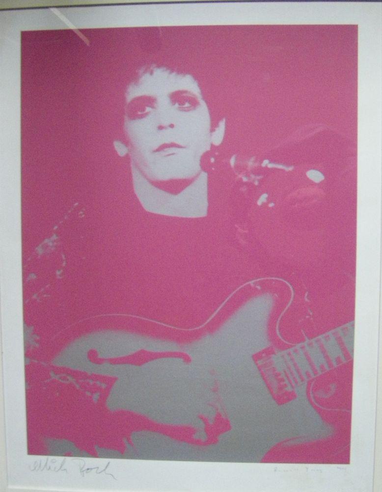 Screenprint Young - Lou Reed Transformer