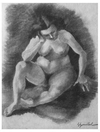 Lithograph Bonabel - Louis-Ferdinand Céline - Litographie Originale / Original Lithograph - 1938