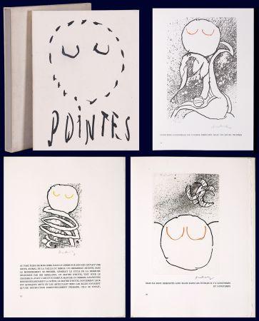 Illustrated Book Alechinsky - Louis Scutenaire et Pierre ALechinsky : POINTES (17 gravures monogrammées) 1972.