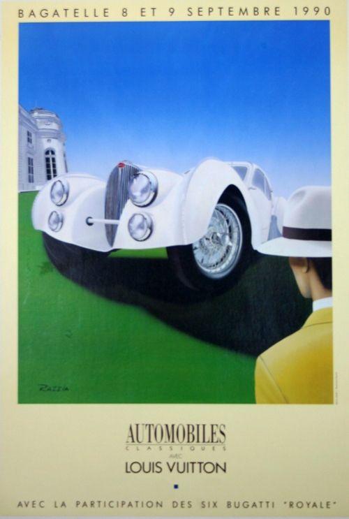 Poster Razzia - Louis Vuiton Classic L  Parc de Bagatelle