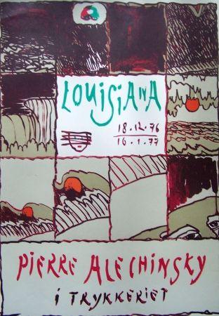 Poster Alechinsky - Louisiana