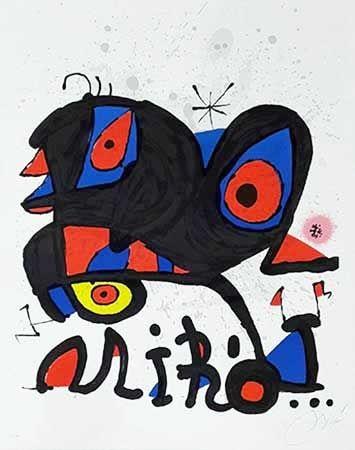 Lithograph Miró - Louisiana