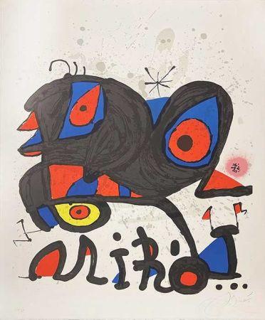 Lithograph Miró - Louisiania