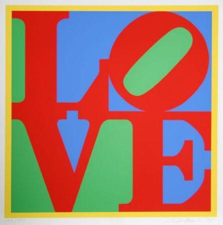 Screenprint Indiana - Love big