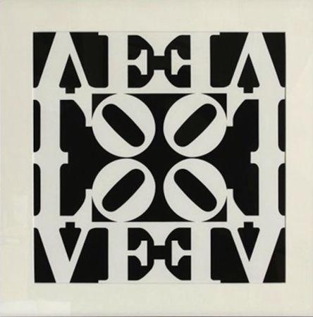 Screenprint Indiana - Love, from Decade Portfolio