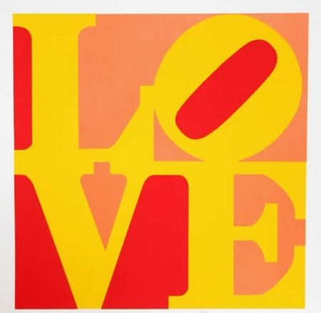 Multiple Indiana - Love – Red Yellow Orange